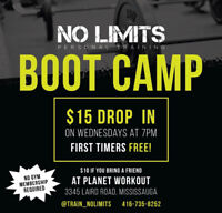 BOOTCAMPS & PERSONAL TRAINING