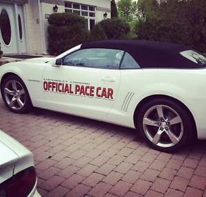 2011 Chevrolet Camaro Official Pace Car Convertible