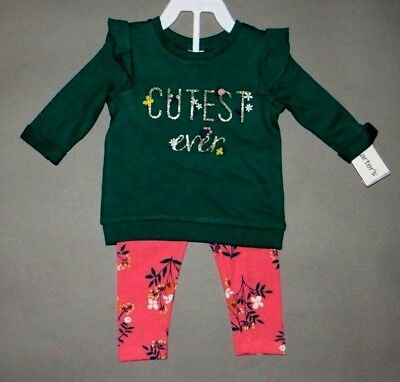 Baby girl clothes, 4T, Carter