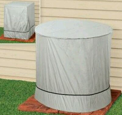 Air Conditioner Cover Outdoor AC ROUND Waterproof  Protection Top FREE SHIPPING