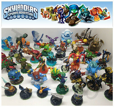 Skylanders Spyros Adventure Figures Games Portals Xbox Wii U Ps3 Ps4 Free Ship