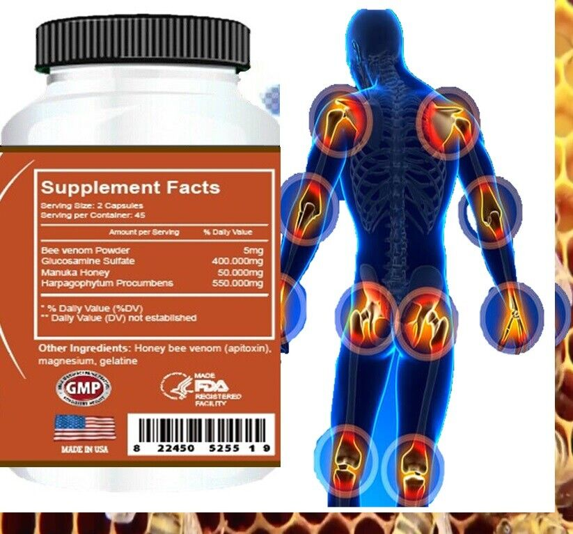 #1 BEST PAIN RELIEF PILLS ARTHRITIS RELIABLE JOINT EXTREME CRAMPS STRESS SUPPORT 2