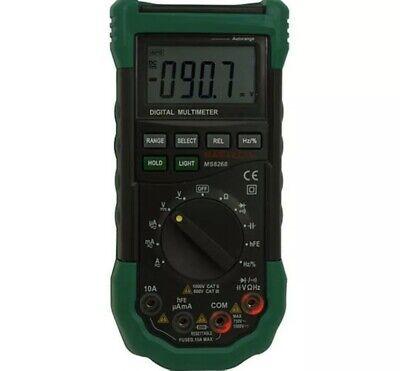 Mastech Ms8268 Series Digital Acdc Automanual Range Multimeter - Testers