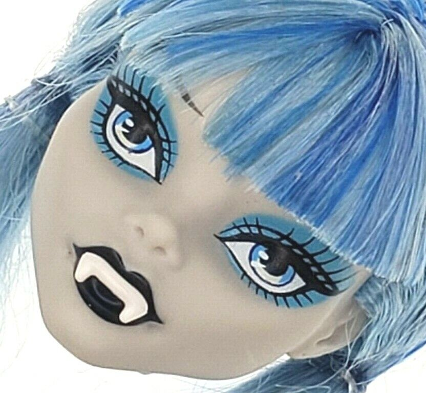 Monster High - Ghoulia Yelps - Freaky Fusion - Head With Fake Vampire Teeth Only - $14.99