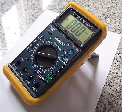Digital Ammeter Dmm Wcapacitor Testertype K Thermocoupletest Leads Hvac Tool