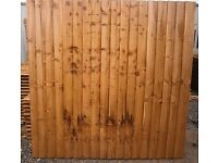 top quality fence panels made in romford, free same day deliveries 6ftx6ftft £22.00each