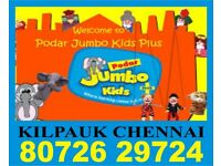 Podar Jumbo Kids Plus | 8072629724 | 936 | Online Coaching | Play group