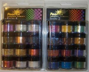 Pearl Ex Powdered Pigments Series 1 and 2 Scrapbooking