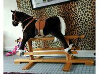 huge rocking horse