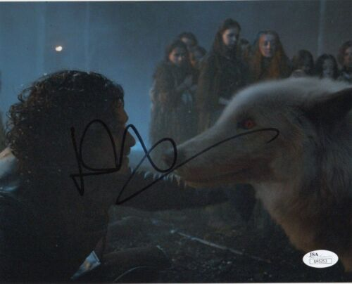 Kit Harington Game of Thrones Autographed Signed 8x10 Photo JSA COA #J1