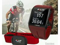 Red polar v800 top of the Range sports watch