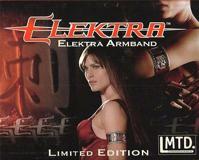 ELEKTRA MARVEL COMICS Superhero Jennifer Garner Movie Prop ARMBAND JEWELRY New (Elektra Superhero)