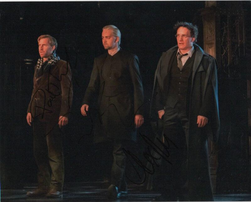 Parker Thornley Harry Potter Cursed Child Autographed Signed 8x10 Photo COA