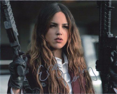 Eiza Gonzalez Baby Driver Autographed Signed 8x10 Photo COA #J3