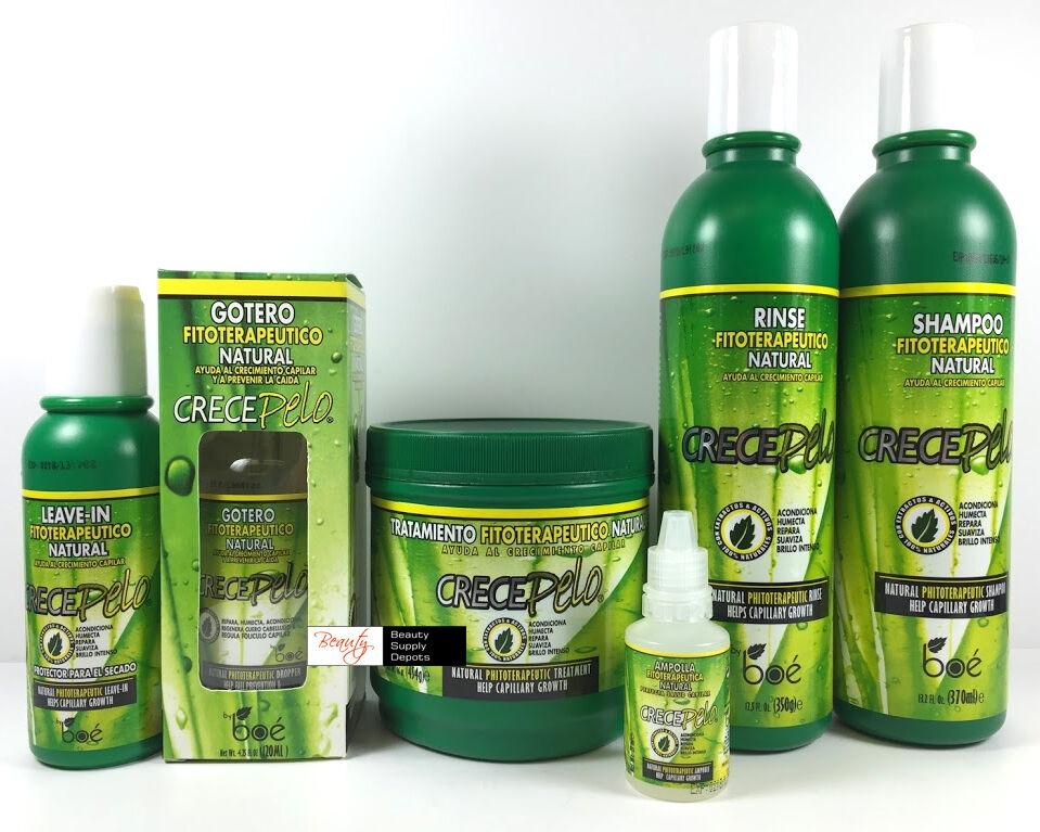 BOE Crece Pelo Fitoterapeutico Natural Shampoo & Rinse & Tre