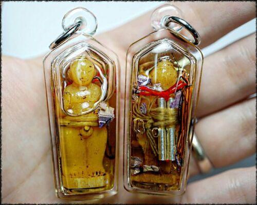 Thai Billionaire Doll Amulet Phra Ajarn O Attraction Wealth Fortune Rich Money