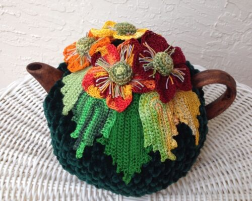 NEW  Handmade Tea Cozy Fall Time/Green ...