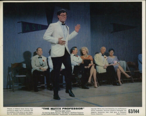 THE NUTTY PROFESSOR (1963) Original 8x10 Color Set - Jerry Lewis