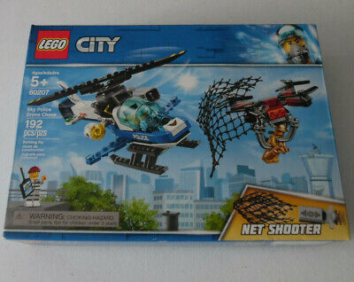 LEGO City Sky Police Drone Chase 60207 192 Piece Building Toy Set Kit New In - Police Building Set