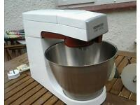 Kenwood chef 902/904 stainless bowl 2 attachments lovely condition