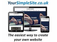Create your own website for FREE in a couple of minutes. (Includes hosting and a domain name).