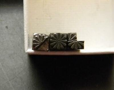 Vintage Metal Letterpress Print Type 6pt Starburst Flower Border  Mb80  1