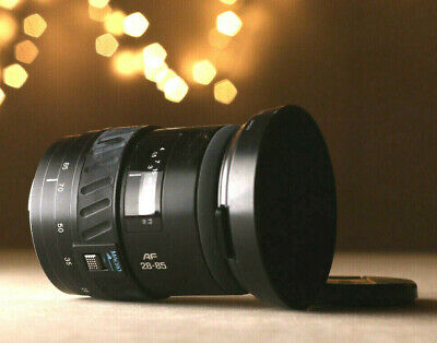 Minolta AF Zoom Beercan 28-85mmF:3.5(22)-4.5 Sony A7r A7rll A7 Nex - TESTED