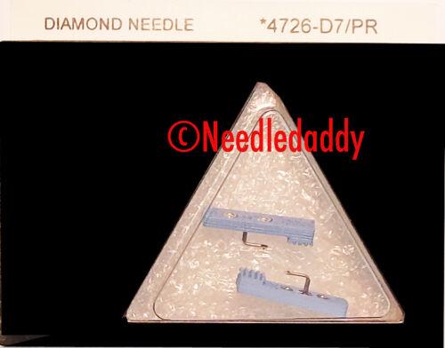 NEW in box SEALED DIAMOND NEEDLES PAIR FOR SEEBURG JUKEBOX REDHEAD NEEDLES