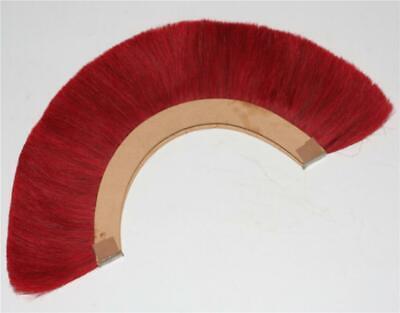 HALLOWEEN RED CREST BRUSH Nylon For ROMAN HELMET ARMOR New