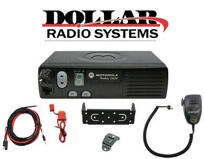 Motorola Cm200 Vhf 146-174mhz 4ch 45w Mobile Radio Aam50kqc9aa1an