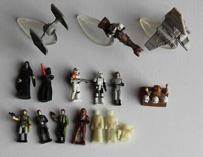 Star Wars Micro Machines Vehicle / Ship / Figure Collection - Tie Fighter, AT-ST
