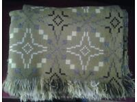 Tregwynt welsh woollen blankets. £100 each.