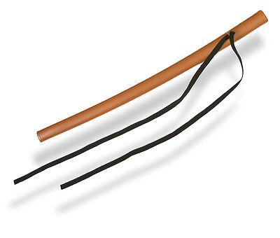 Bokken Scheide SAYA, braun.Schwertscheide. Aus haltbarem Kunststoff.Kendo,Aikido