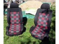 Mk3 Golf GTI Seats