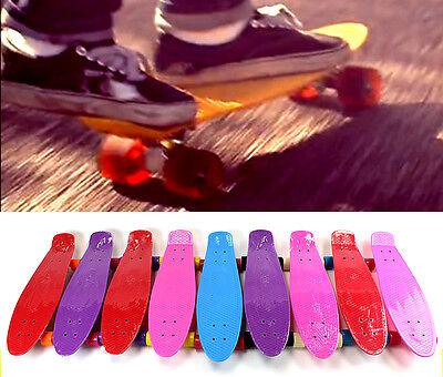 "27"" Mini Skateboard Cruiser Style Plastic Complete Deck Skate Board"