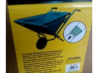 FOLDABLE WHEELBARROW - COLOUR GREEN