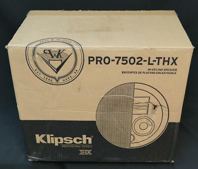 Klipsch PRO-7502-L-THX In-Wall Speaker - White