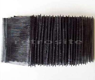 1000 Black Price Tag Tagging Gun 3 Barbs Fasteners