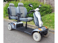 Two Seater Tandem 8mph Mobility Scooter FREE DELIVERY WITHIN 50 MILES