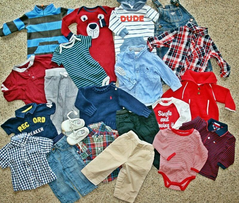 Baby Boys Clothing Lot Size 6-12 Months Lucky Mayoral H&m Gap Stride Rite Shoes