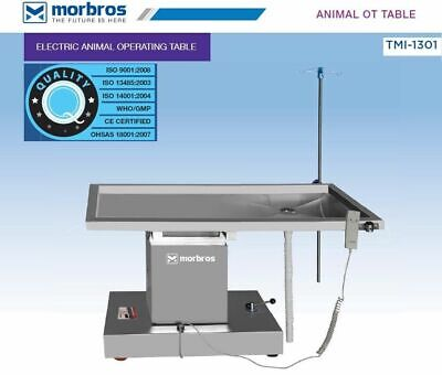 Veterinary Surgical Operating Table Electric Up Down Animal Surgical Ot Table