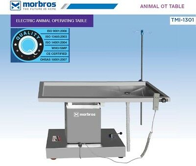 New Surgical Veterinary Operating Table Model Tmi 1301 Electric Lift Up Down