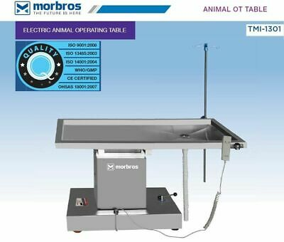 Veterinary Operating Table Model Tmi 1301 Electric Lift Up Down