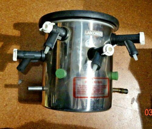 """Labconco 8.5"""" Dia   Drum Manifold Freeze Dryer Component 12 Holes"""