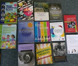 Early Years Degree level text books