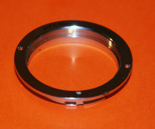Genuine M42 Screw Mount to Minolta MD Mount Adapter
