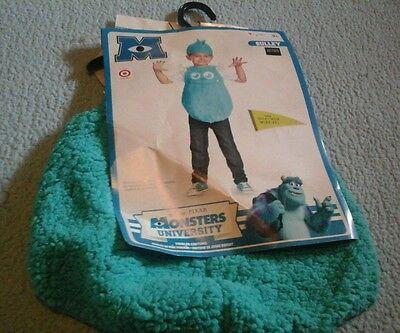 Disney Sulley Monsters University Toddler Costume 3t-4t Pixar New Dress Up  (Monsters University Costume)