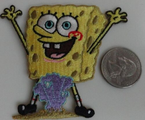 Spongebob Squarepants Clam Shell Pants Embroidered Iron On Patch - New, Rare