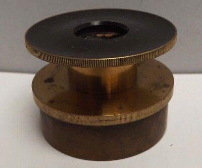 Microscope [ Polariser ] Brass { C1870 } 39 mm Fitting [ Push Fit ]
