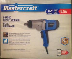 Mastercraft Corded Impact Wrench/Clé à chocs à fil